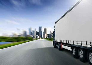 会社概要トラック画像